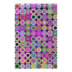 Design Circles Circular Background Shower Curtain 48  x 72  (Small)