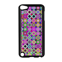 Design Circles Circular Background Apple iPod Touch 5 Case (Black)