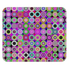 Design Circles Circular Background Double Sided Flano Blanket (small)
