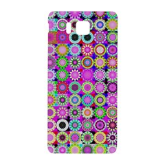Design Circles Circular Background Samsung Galaxy Alpha Hardshell Back Case