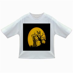 Death Haloween Background Card Infant/Toddler T-Shirts