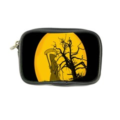 Death Haloween Background Card Coin Purse
