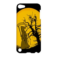 Death Haloween Background Card Apple iPod Touch 5 Hardshell Case