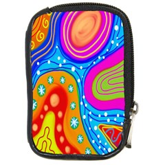 Doodle Pattern Compact Camera Cases