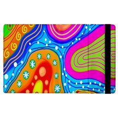 Doodle Pattern Apple iPad 2 Flip Case