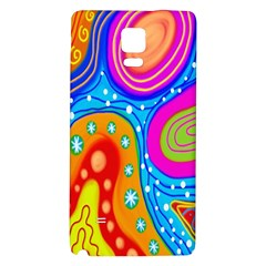 Doodle Pattern Galaxy Note 4 Back Case