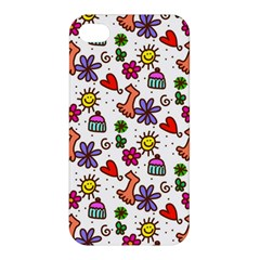 Doodle Wallpaper Apple iPhone 4/4S Hardshell Case