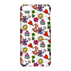 Doodle Wallpaper Apple iPod Touch 5 Hardshell Case with Stand