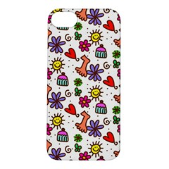 Doodle Wallpaper Apple iPhone 5S/ SE Hardshell Case