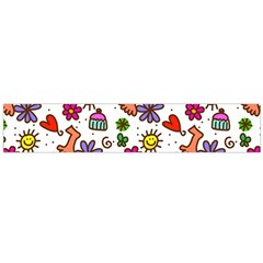 Doodle Wallpaper Flano Scarf (Large)