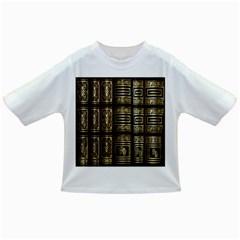 Detail Golden Gold Ornaments Infant/Toddler T-Shirts