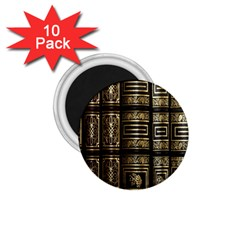 Detail Golden Gold Ornaments 1.75  Magnets (10 pack)