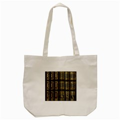 Detail Golden Gold Ornaments Tote Bag (Cream)