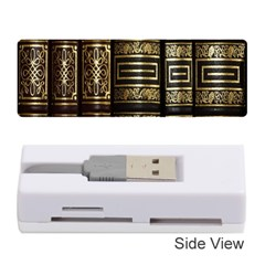 Detail Golden Gold Ornaments Memory Card Reader (Stick)