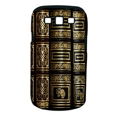 Detail Golden Gold Ornaments Samsung Galaxy S III Classic Hardshell Case (PC+Silicone)