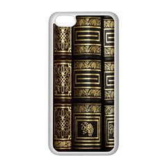 Detail Golden Gold Ornaments Apple iPhone 5C Seamless Case (White)