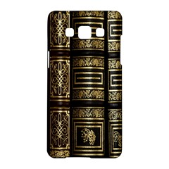 Detail Golden Gold Ornaments Samsung Galaxy A5 Hardshell Case