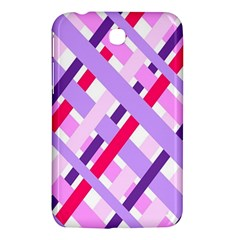 Diagonal Gingham Geometric Samsung Galaxy Tab 3 (7 ) P3200 Hardshell Case