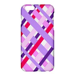 Diagonal Gingham Geometric Apple iPhone 6 Plus/6S Plus Hardshell Case