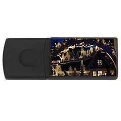 Christmas Advent Candle Arches USB Flash Drive Rectangular (2 GB)