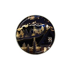 Christmas Advent Candle Arches Hat Clip Ball Marker (4 pack)