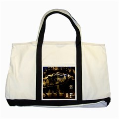 Christmas Advent Candle Arches Two Tone Tote Bag
