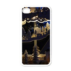 Christmas Advent Candle Arches Apple iPhone 4 Case (White)
