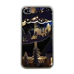 Christmas Advent Candle Arches Apple iPhone 4 Case (Clear)