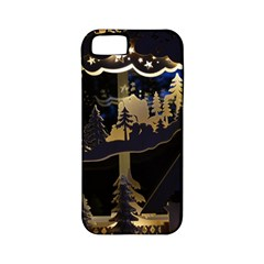 Christmas Advent Candle Arches Apple iPhone 5 Classic Hardshell Case (PC+Silicone)