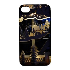 Christmas Advent Candle Arches Apple iPhone 4/4S Hardshell Case with Stand