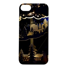 Christmas Advent Candle Arches Apple iPhone 5S/ SE Hardshell Case
