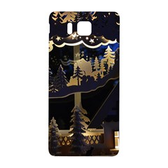 Christmas Advent Candle Arches Samsung Galaxy Alpha Hardshell Back Case
