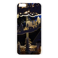 Christmas Advent Candle Arches Apple Seamless iPhone 6 Plus/6S Plus Case (Transparent)
