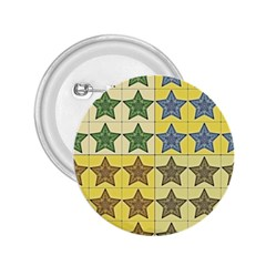 Pattern With A Stars 2.25  Buttons