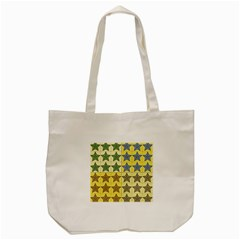 Pattern With A Stars Tote Bag (Cream)