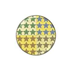 Pattern With A Stars Hat Clip Ball Marker (4 pack)