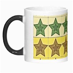 Pattern With A Stars Morph Mugs