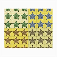Pattern With A Stars Small Glasses Cloth