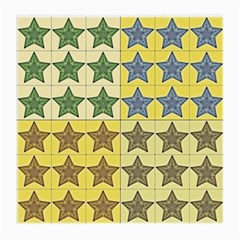 Pattern With A Stars Medium Glasses Cloth (2-Side)