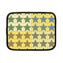 Pattern With A Stars Netbook Case (Small)