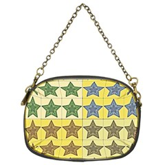 Pattern With A Stars Chain Purses (One Side)