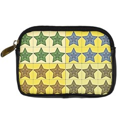 Pattern With A Stars Digital Camera Cases