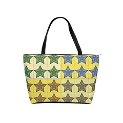 Pattern With A Stars Shoulder Handbags
