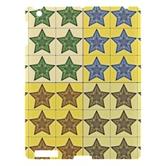 Pattern With A Stars Apple iPad 3/4 Hardshell Case