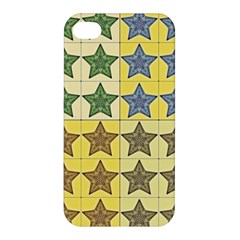 Pattern With A Stars Apple iPhone 4/4S Premium Hardshell Case