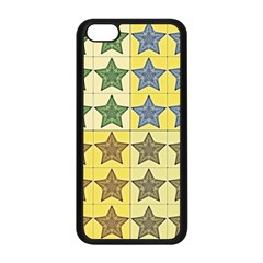 Pattern With A Stars Apple iPhone 5C Seamless Case (Black)