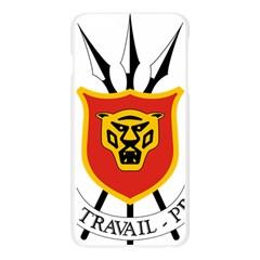 Coat of Arms of Burundi Apple Seamless iPhone 6 Plus/6S Plus Case (Transparent)