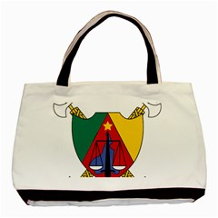 Coat Of Arms Of Cameroon  Basic Tote Bag (two Sides)