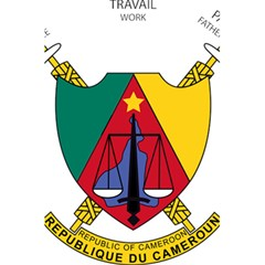 Coat Of Arms Of Cameroon 5 5  X 8 5  Notebooks