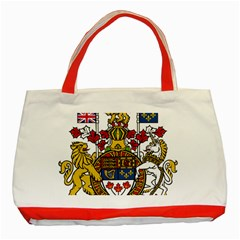 Canada Coat Of Arms  Classic Tote Bag (red)